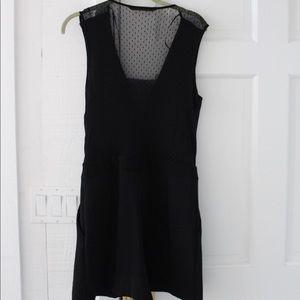 NWOT Zara Basic Black Romper